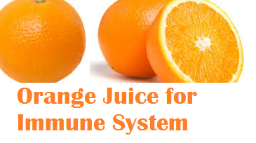 Health benefits Orange Juice for Immune System