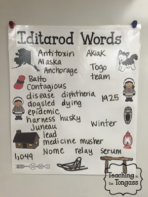 iditarod classroom activities