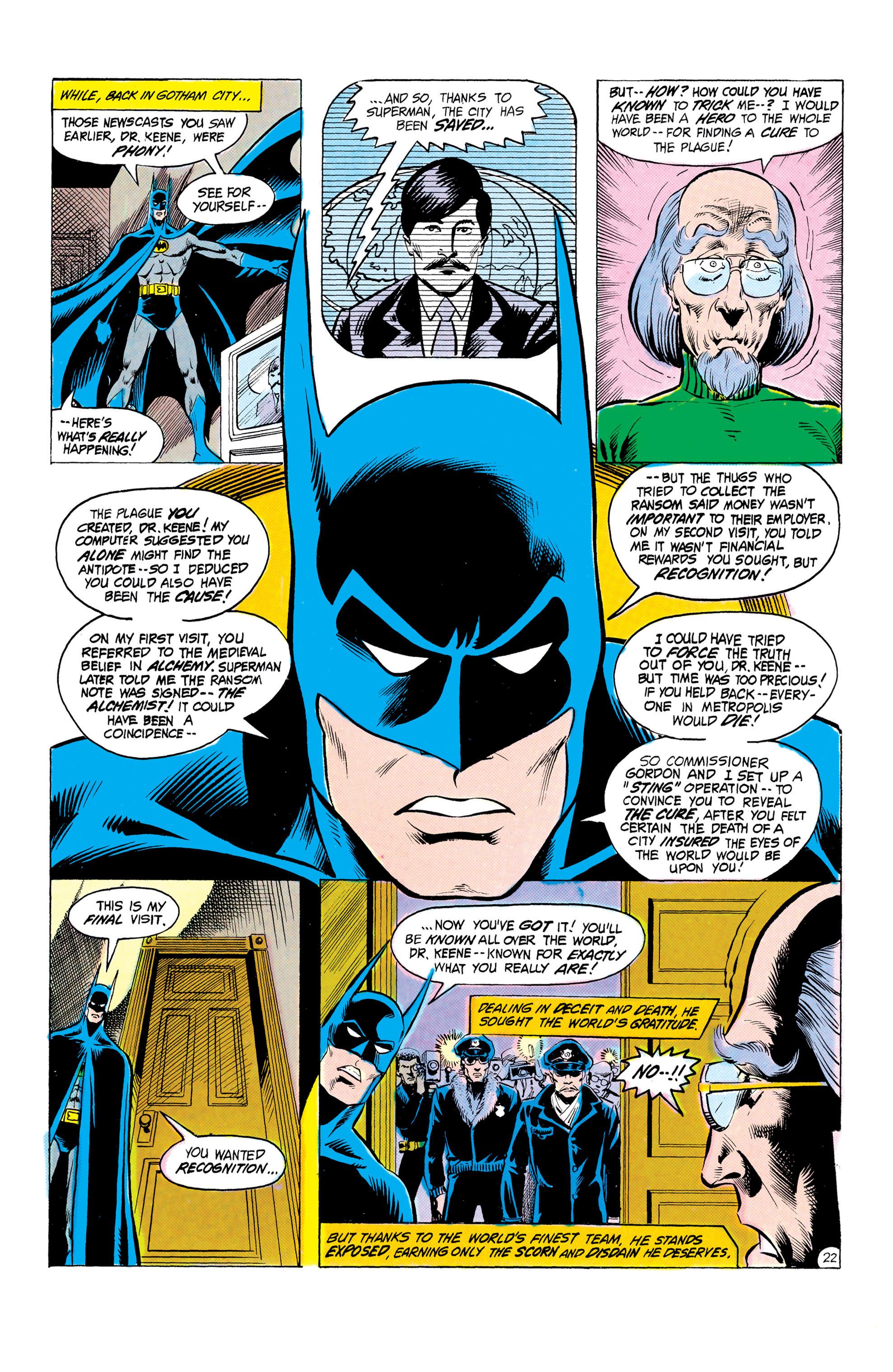 Read online World's Finest Comics comic -  Issue #303 - 23