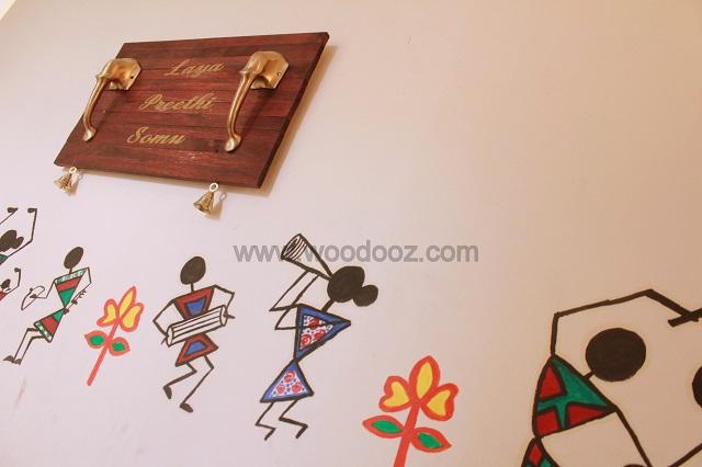 Warli wall painting