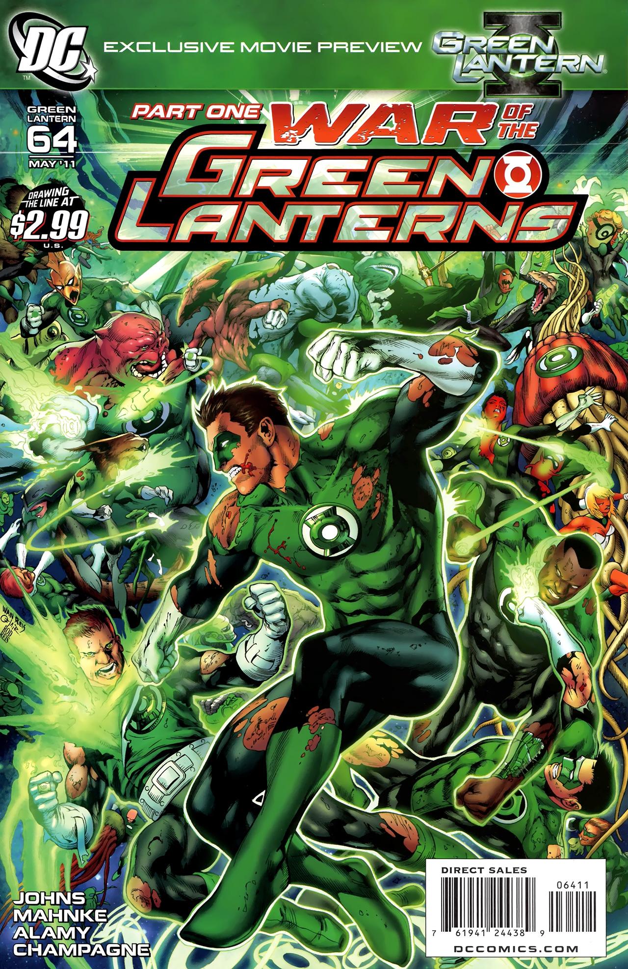 Green Lantern (2005) 64 Page 1