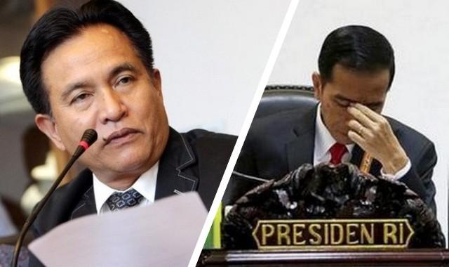 Yusril: Presiden Jokowi Sudah Bisa Kena Impeachment