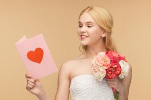 carte de voeux pour féliciter un mariage