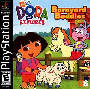 Dora the Explorer - Barnyard Buddies  - PS1 - ISOs Download