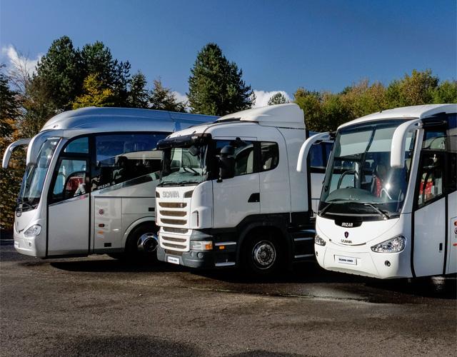 модельный ряд Scania