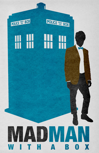 Doctor Ojiplático. Travis English. The Bear Jedi. Doctor Who Series 5. Ilustración | Illustration