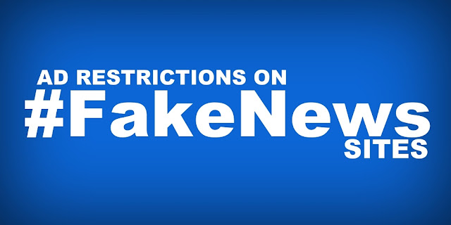 "NEWS | Facebook, Google move to restrict online ads on ""Fake News"" sites"