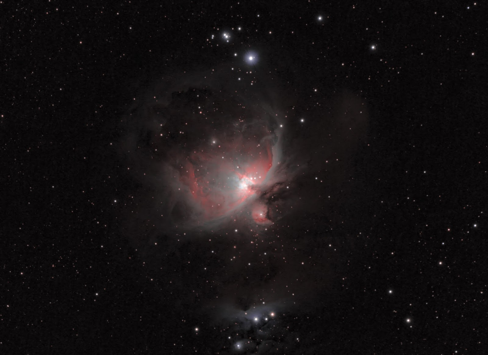 orion nebula location - HD 1600×1163