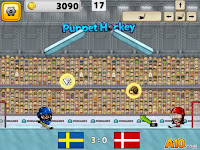 game online puppet ice hockey
