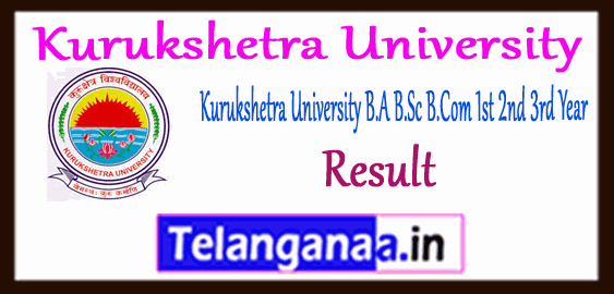 KUK Kurukshetra University  BA B.Sc B.Com Part 1 2 3 Supplementary Shastri Result