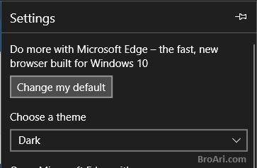 Tips Browsing Internet Menggunakan Microsoft Edge dengan Dark Mode