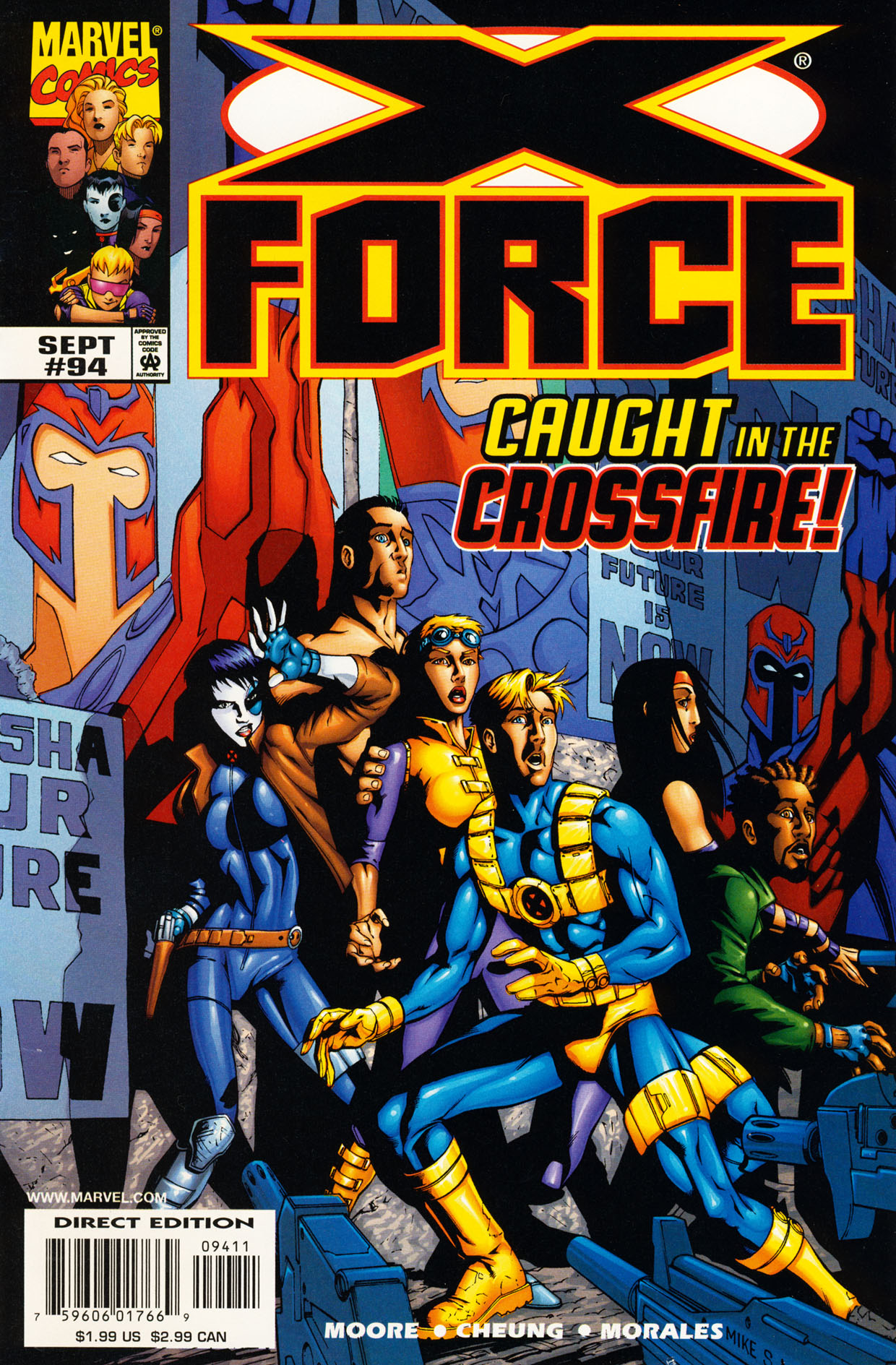 Read online X-Force (1991) comic -  Issue #94 - 1