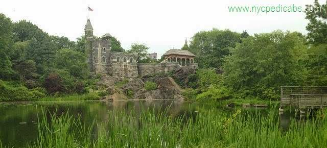 Belvedere Castle  - NYC Pedicab Tours