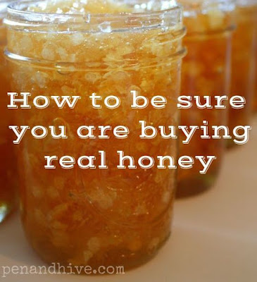 jars of honeycomb