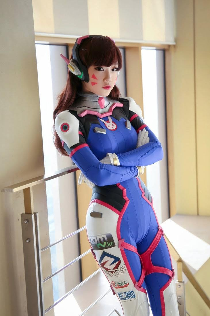 Cosplay D.VA - Overwatch P2