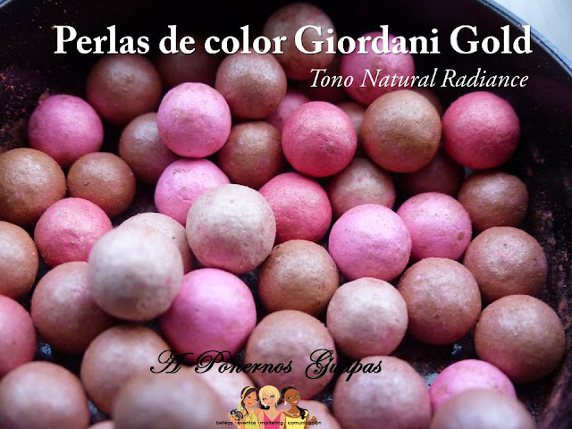 Perlas de Color Giordani Gold Natural Radiance