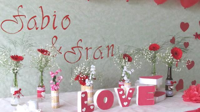 Carinho  Dicas de decoração para Casamento , Simples e Barato