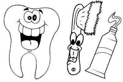 Bau Da Web Desenhos De Escovas De Dente E Creme Dental Escovacao