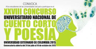 Concurso Universitario Nacional de Poesía 2015
