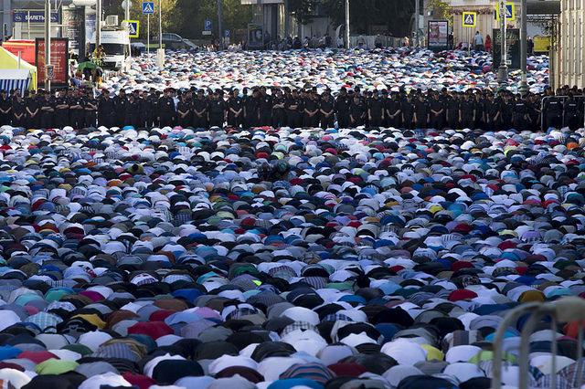 Shalat Idul Fitri Di Negara Minoritas Islam