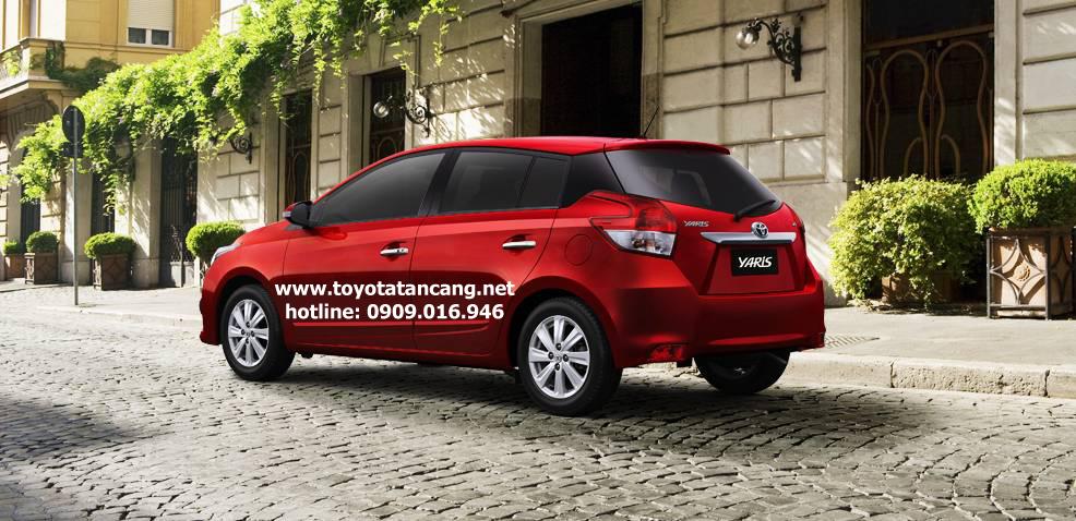 """toyota yaris 2015 e g toyota tan cang 4 -  - Giá xe Toyota Yaris 2015 nhập khẩu - """"Quả bom tấn"""" của dòng Hatchback"""