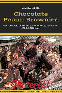 keto pinterest graphic brownies gluten free