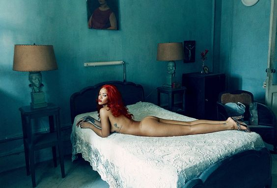 Photo of Rihanna Shot by Annie Liebovitz in Cuba for Vanity Fair