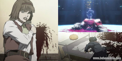 rekomendasi anime Blood The Last Vampire scene