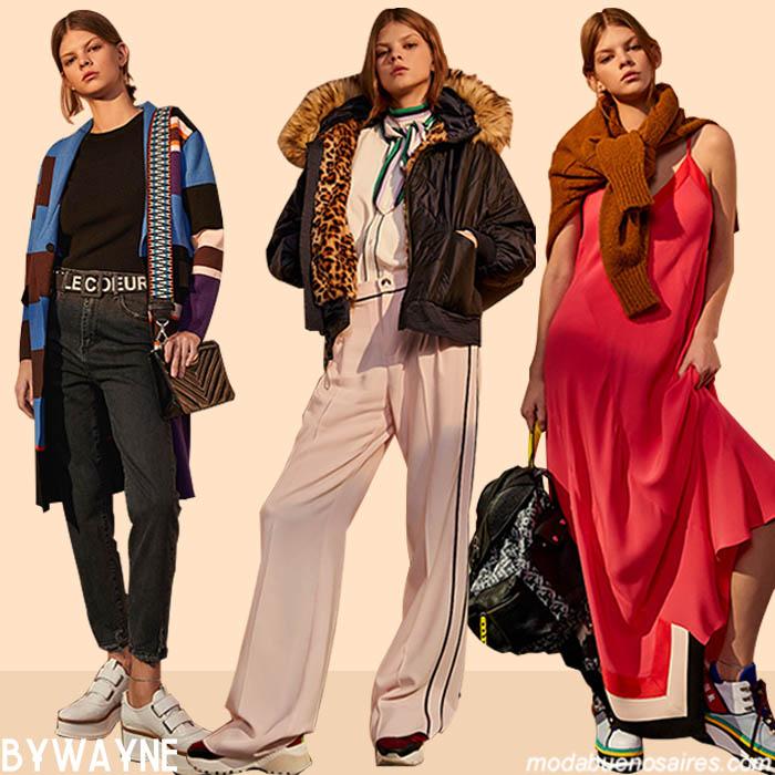Colecciön otoño invierno 2019 Jazmín Chebar. │ Moda otoño invierno 2019: remeras, blusas, pantalones, vestidos otoño invierno 2019.