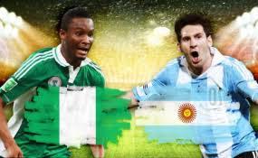 current event news articles on NIGERIA VS ARGENTINA