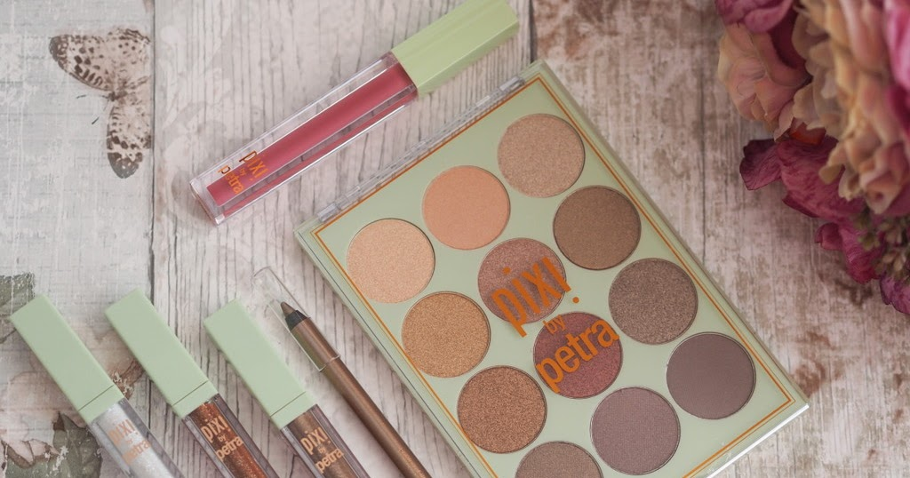 pixi eye reflections shadow palette  u0026 pixi liquid fairy