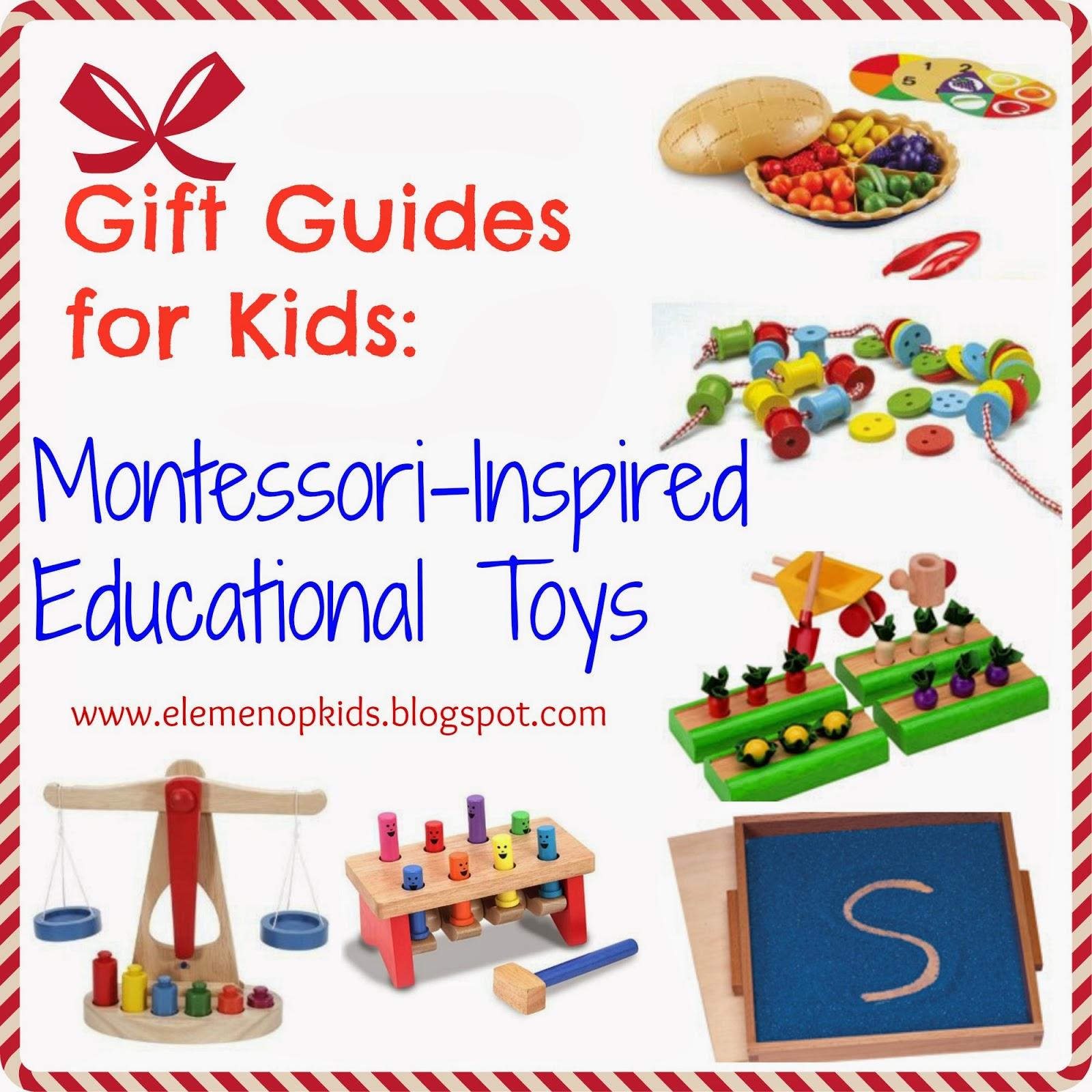 Montessori Gifts Guide