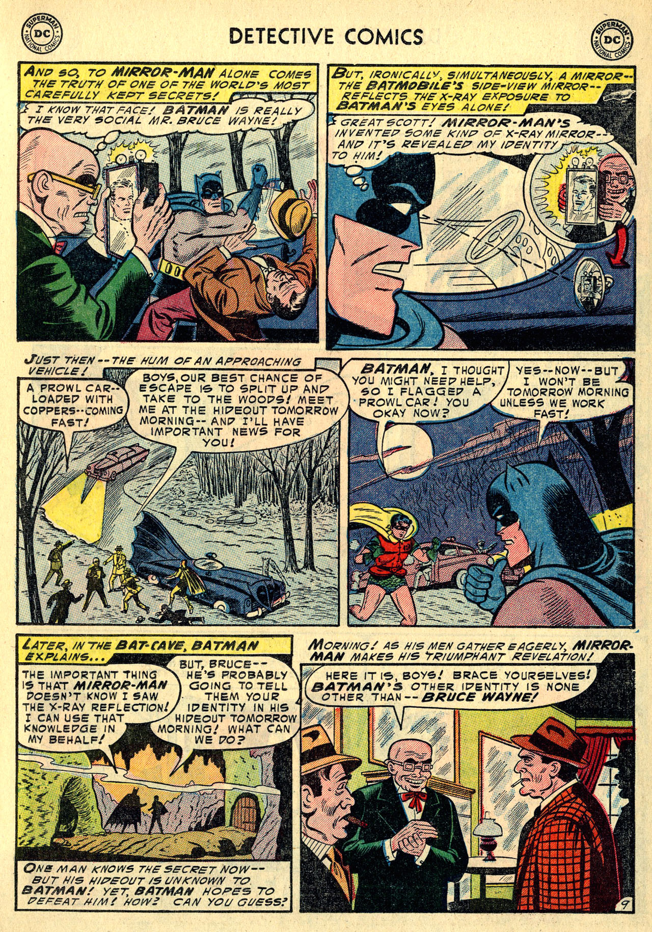 Read online Detective Comics (1937) comic -  Issue #213 - 11