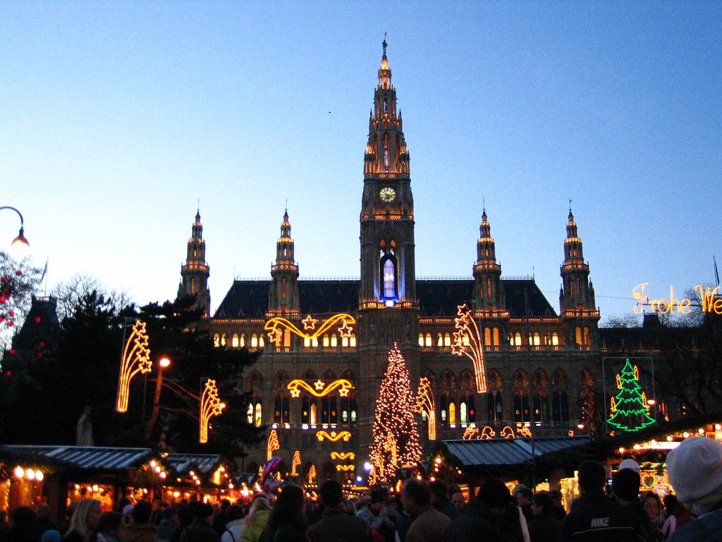 Touring the Christmas Markets in Vienna