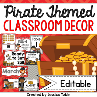 Creating Your Pirate Classroom- classroom decoration for back to school- pirate themed classroom