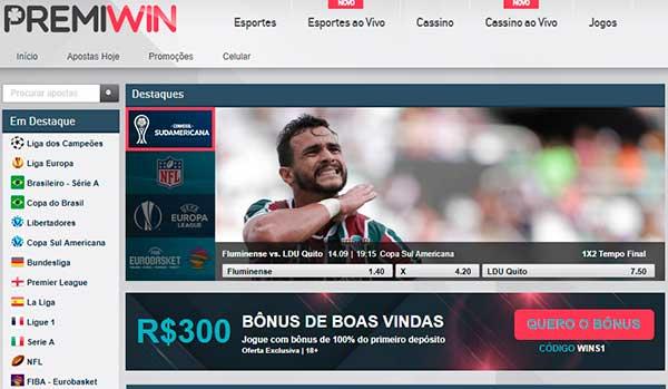 Premiwin - Site de apostas esportivas