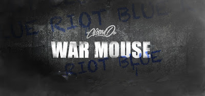 Riot Blue Edition War Mouse Vinyl Figure by Clogtwo x Mighty Jaxx
