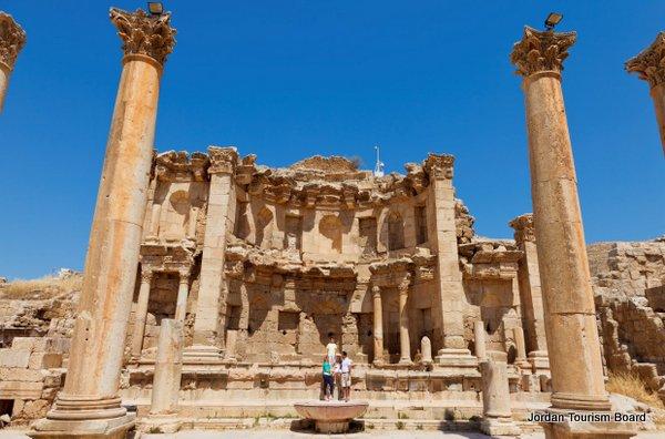 Nymphaeum (Jerash, Jordania)