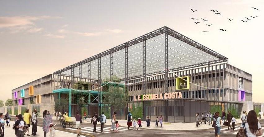 PRONIED firmó contrato con empresa ganadora del Concurso Internacional de Anteproyectos de Escuelas Modulares - www.pronied.gob.pe