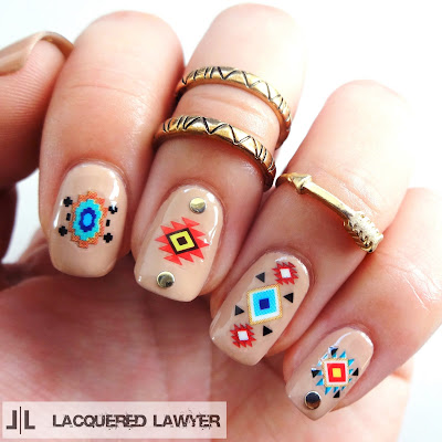 Lacquered Lawyer Nail Art Blog Natural Native