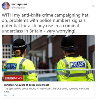 Rise of the criminal underclass - knife crime