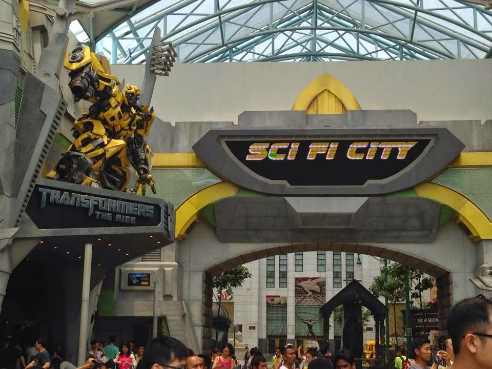 Sci-Fi City Transformers 4D Universal Studios Singapore
