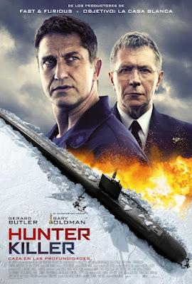 Hunter Killer 2018 Custom HDCAM Latino Cam