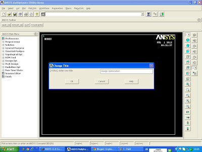 Product Design Engineering Design Optimization In Ansys