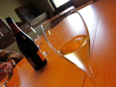 Cata de vino en la bodega Mas Comtal