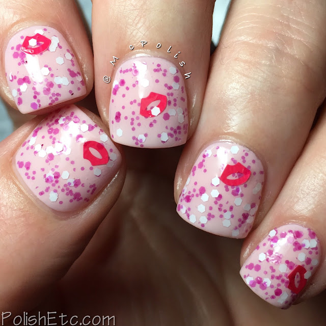 Whimsical Ideas by Pam - Whimsical Valentines 2018 - McPolish - Small Talk