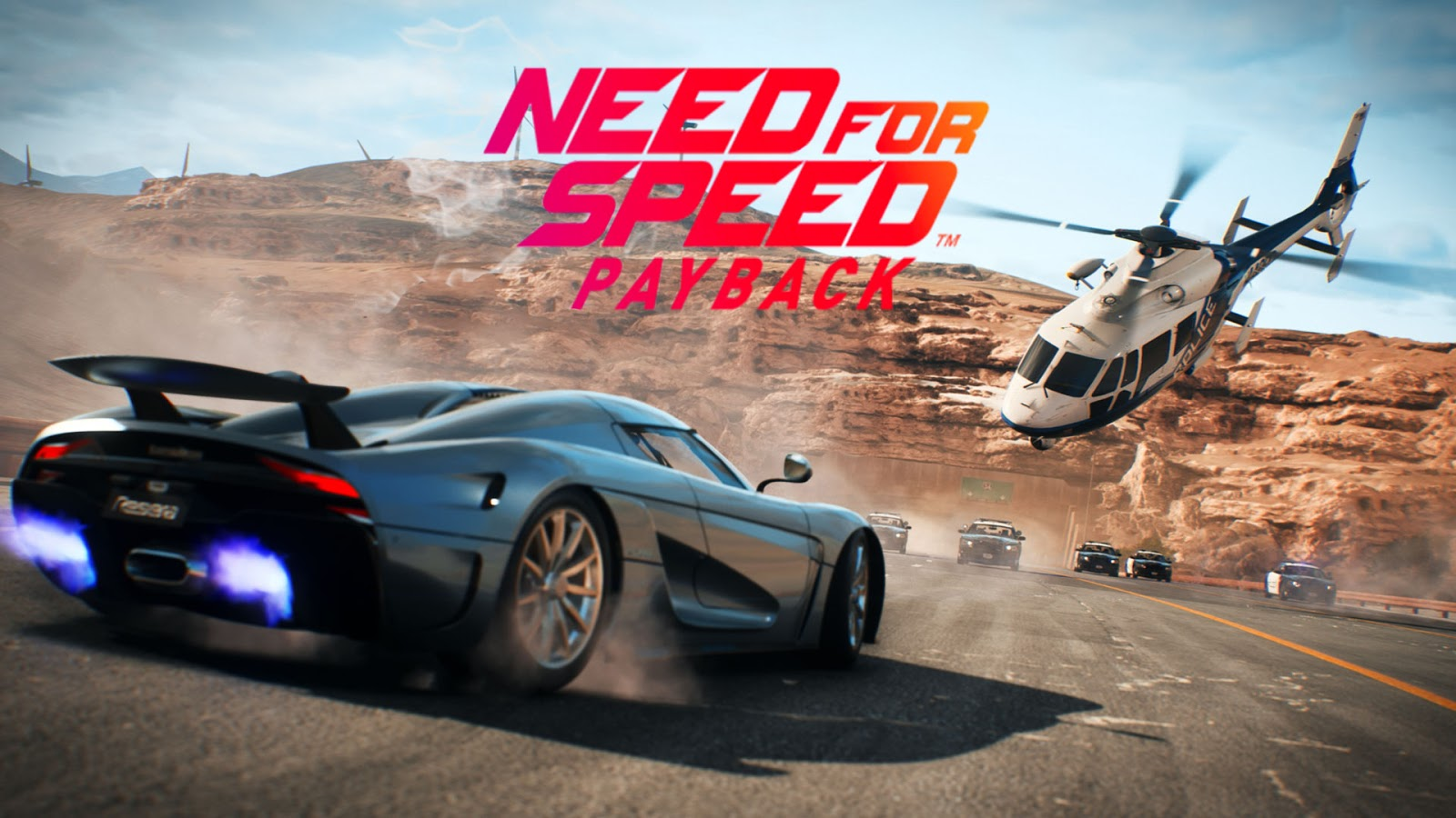Need For Speed Payback Highly Compressed PC Game HC