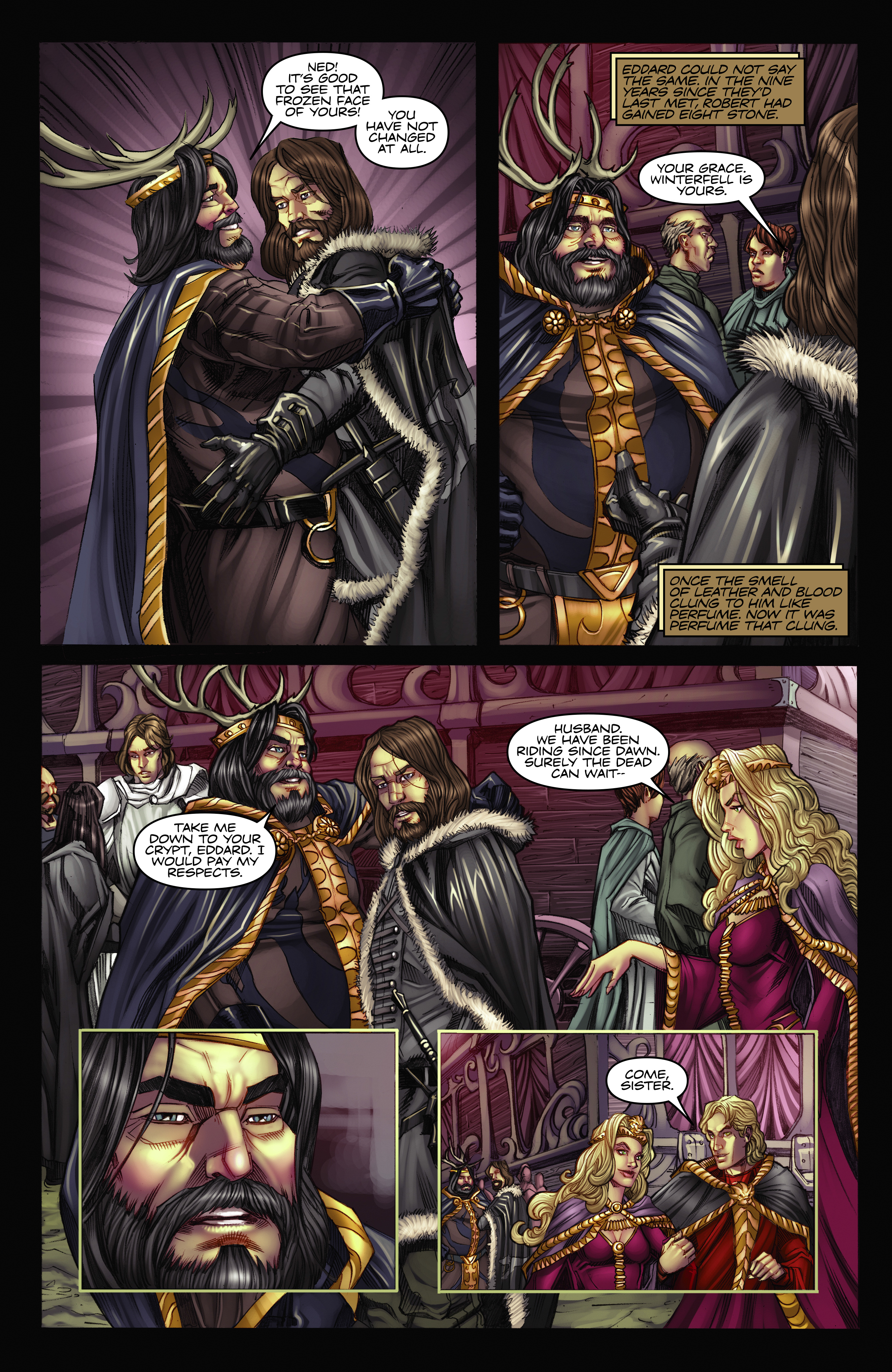 Read online A Game Of Thrones comic -  Issue #2 - 4