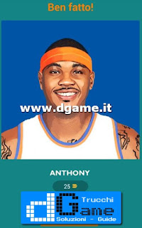 Soluzioni Guess The Basketball Player livello 14