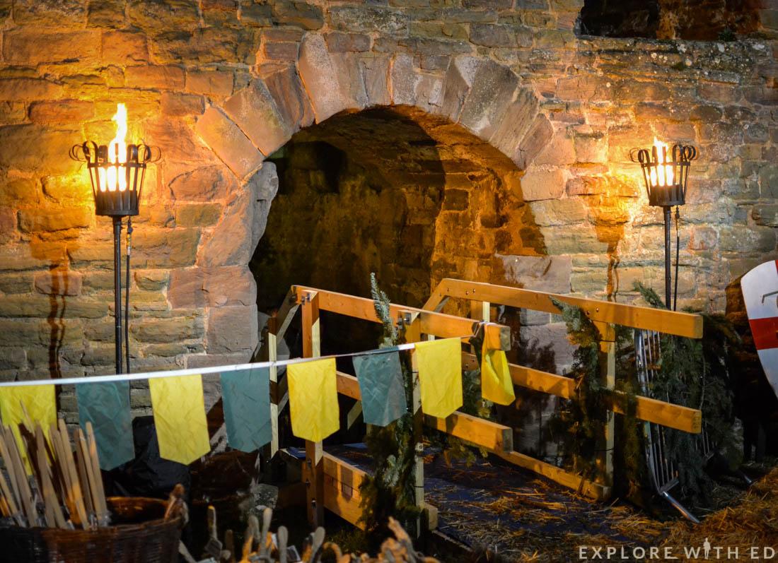 Ludlow Medieval Christmas Fayre, Night
